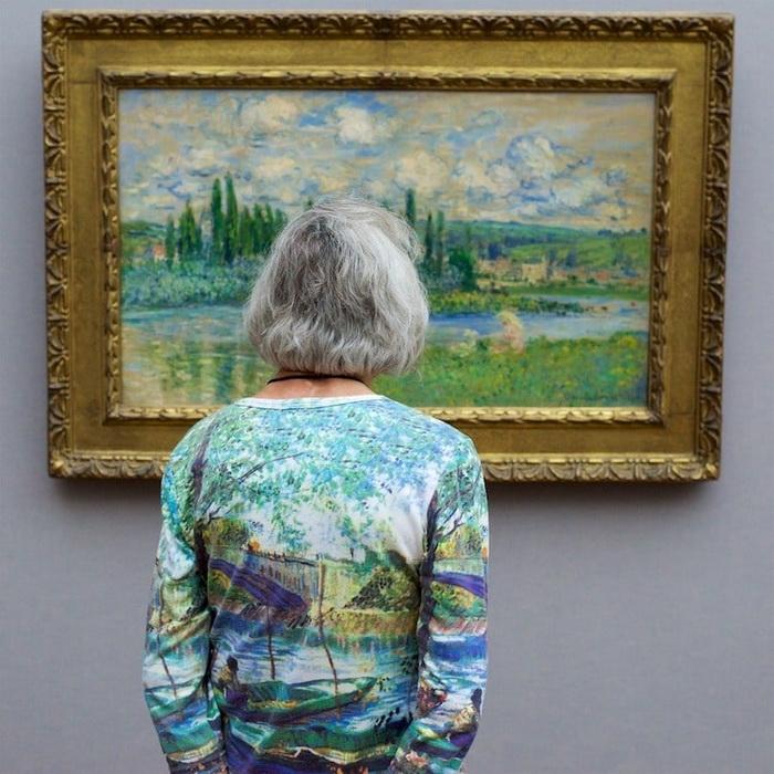 У посетителей картинных галерей так много общего с произведениями искусства.