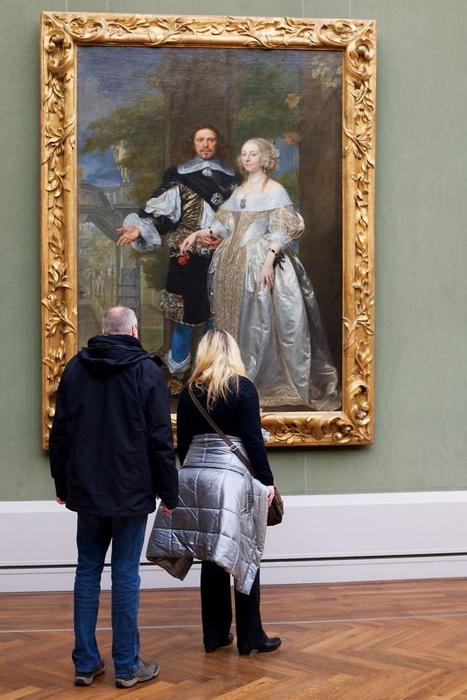 Современная интерпретация классической картины.
