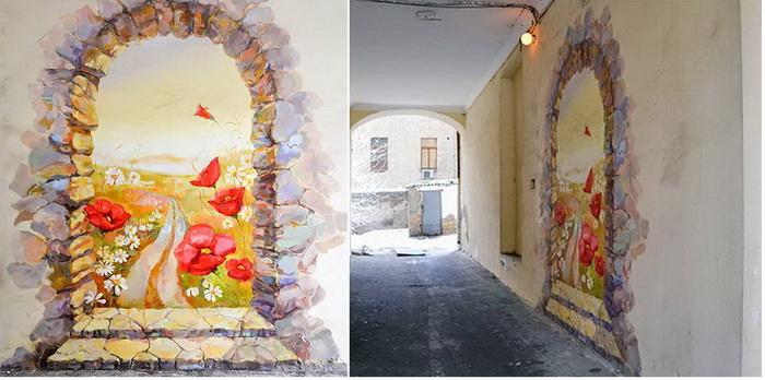 Лучшие образцы стрит-арта в Киеве: граффити 'Маки'