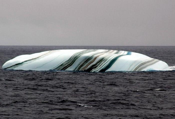 *Мраморный* айсберг
