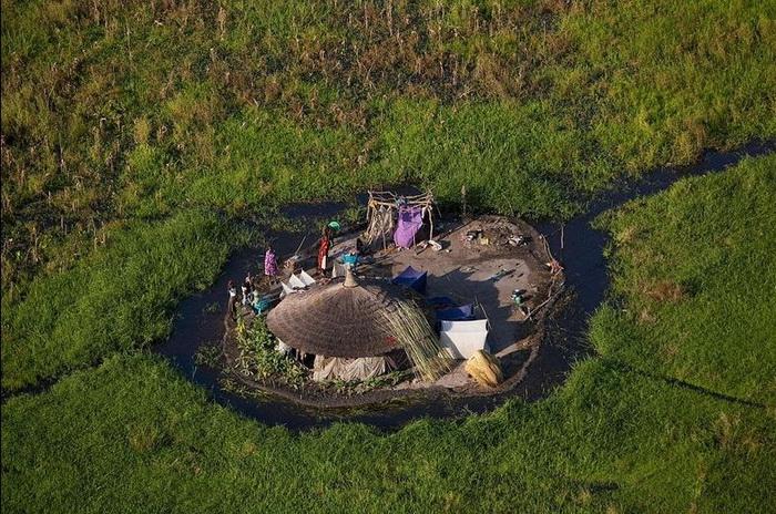 Местные жители испокон веков живут на этой территории в гармонии с природой