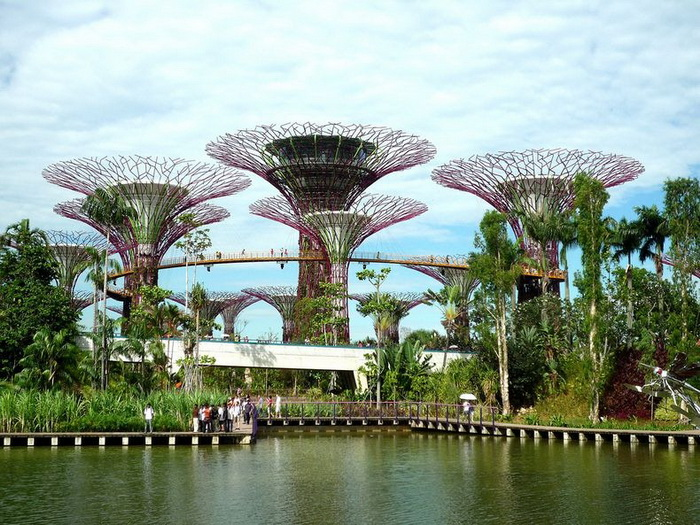 Gardens by the Bay - новая визитная карточка Сингапура
