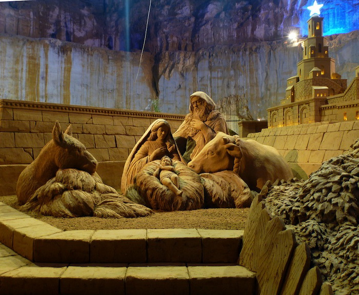 Скульптуры из песка от Сюзанны Раселер (Susanne Ruseler) 58387