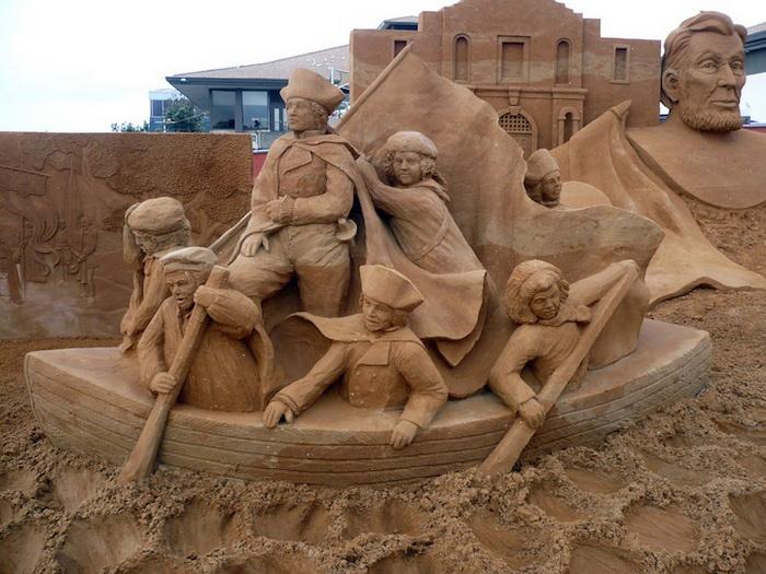 Скульптуры из песка от Сюзанны Раселер (Susanne Ruseler) 67184