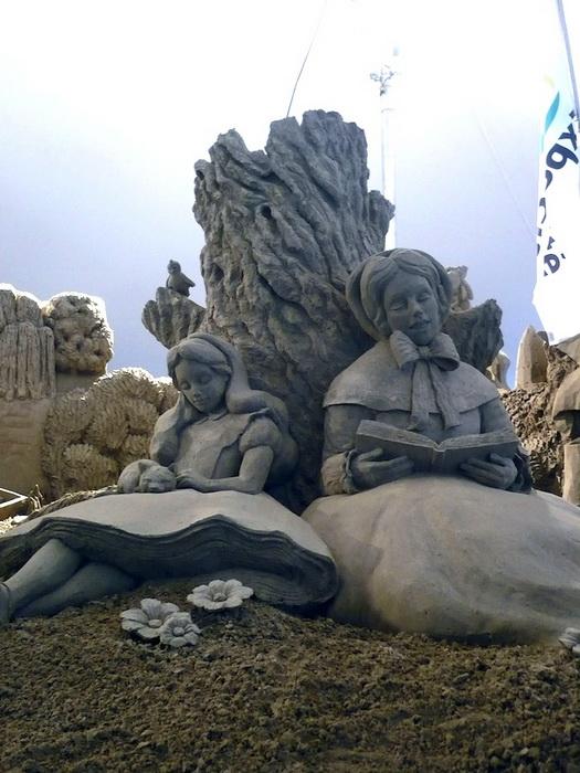 Скульптуры из песка от Сюзанны Раселер (Susanne Ruseler) 35331