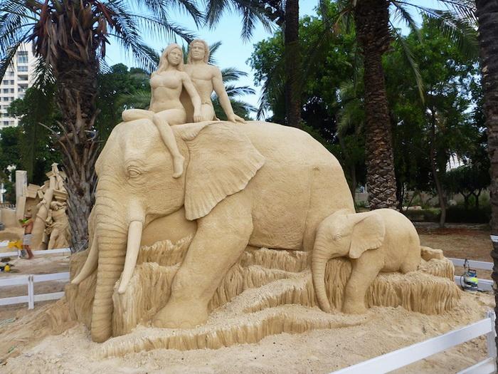 Скульптуры из песка от Сюзанны Раселер (Susanne Ruseler) 48051