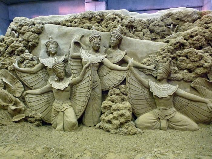 Скульптуры из песка от Сюзанны Раселер (Susanne Ruseler)
