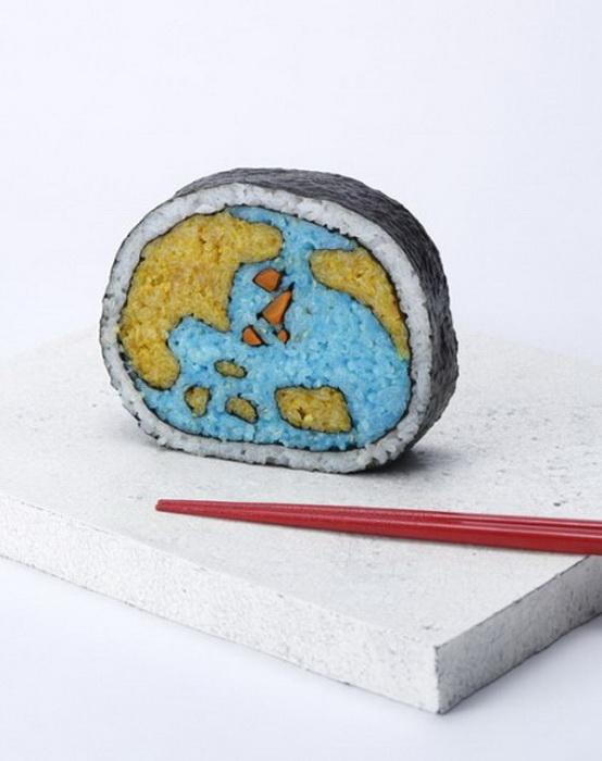 Takyo Kiyota создает необычные суши
