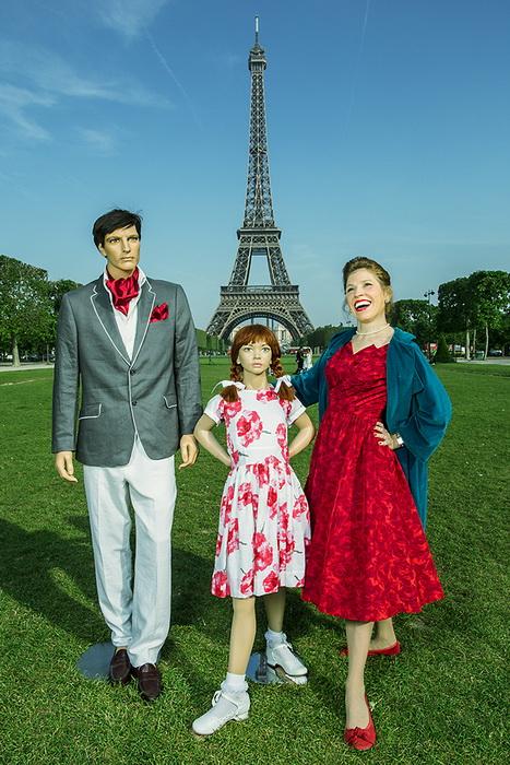 Фотограф Сюзанна Хаинтс (Suzanne Heintz) и ее семья-манекены
