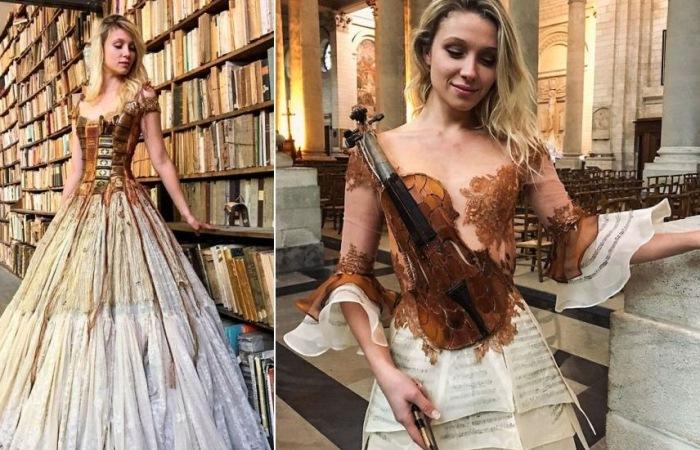 Дизайнерские платья от Сильвии Фэкон.