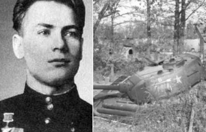 Советские танкисты держали оборону боевой машины 13 дней.