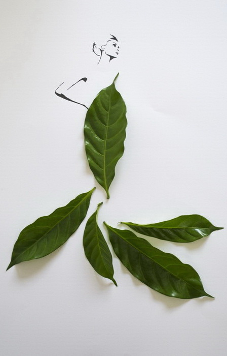 Fashion in Leaf: ������ ������� �� ������� �� Tang Chiew Ling