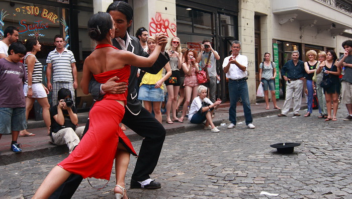 Танго - танец страсти