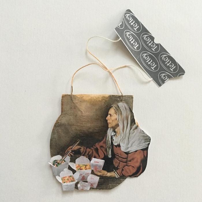 Рисунки на чайных пакетиках. Проект современной художницы Руби Сильвиус (Ruby Silvious).