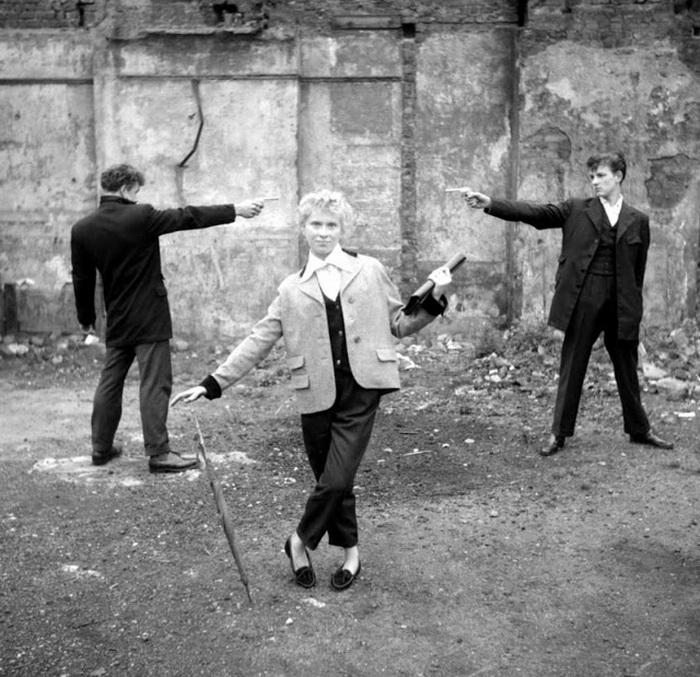 Тедди-герлз - британская субкультура 1950-х годов