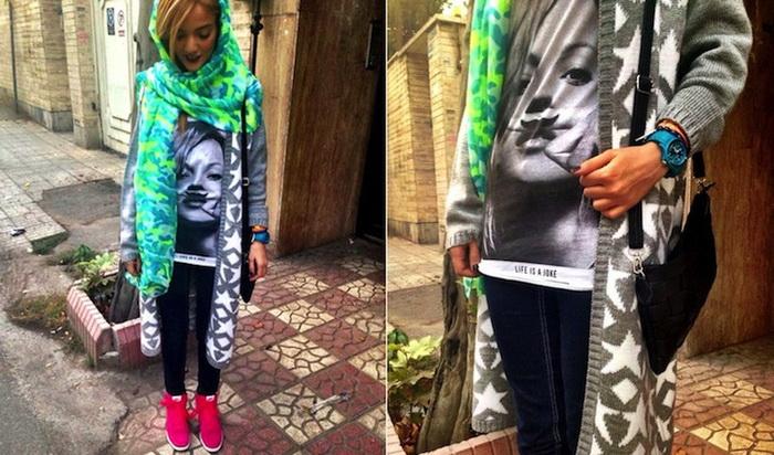 Повседневная одежда иранских женщин. Материалы Интернет-блога The Tehran Times