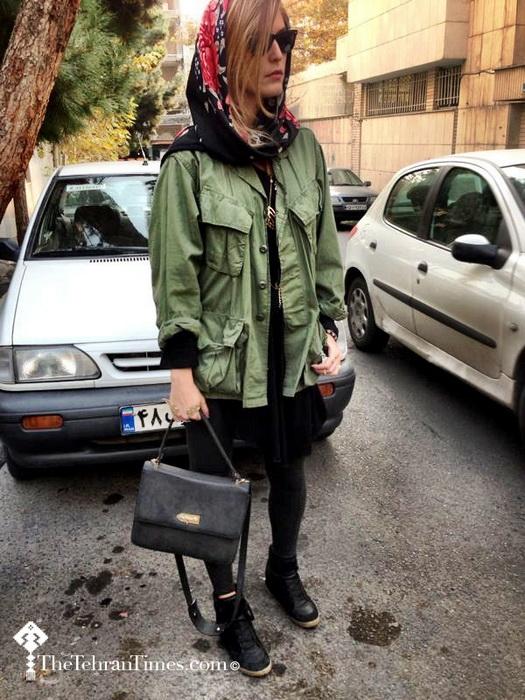 Автор блога The Tehran Times - дизайнер Араз Фазаэли (Araz Fazaeli)