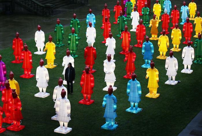 Терракотовая армия от художника Xia Nan