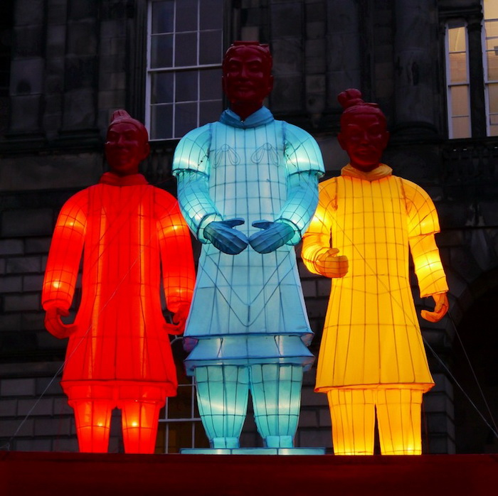 Терракотовая армия в Эдинбурге