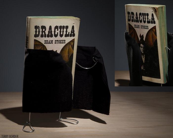 Роман Б. Стокера «Дракула». Скульптура от Терри Бордера (Terry Border)