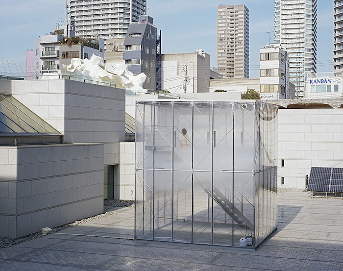 Инсталляция Cloudscapes представлена в музее современного искусства в Токио