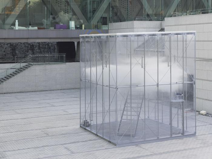 Инсталляция Cloudscapes от японской фирмы Tetsuo Kondo Architects