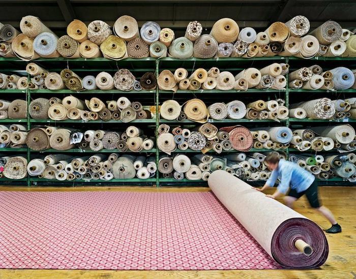 Фотоцикл об американском текстильном производстве от Криса Пейна (Chris Payne)