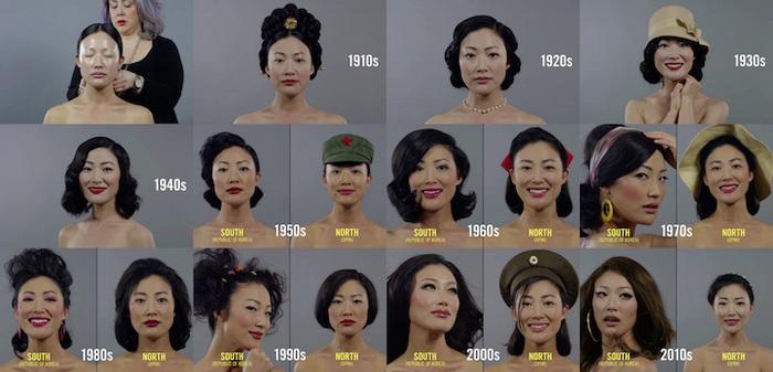 100 лет красоты: фотоцикл о Южной и Северной Корее