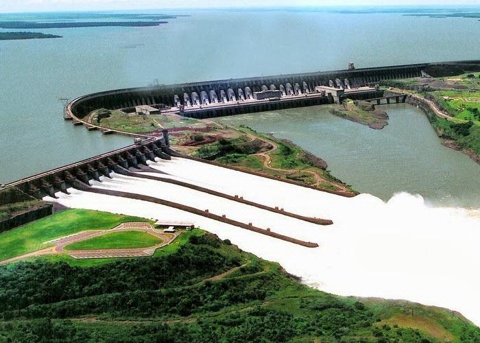 Плотина Итапу (Бразилия-Парагвай)