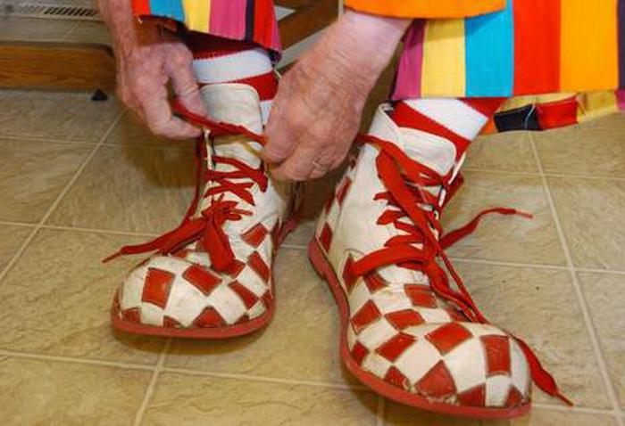 Легендарные туфли самого пожилого клоуна Creeky