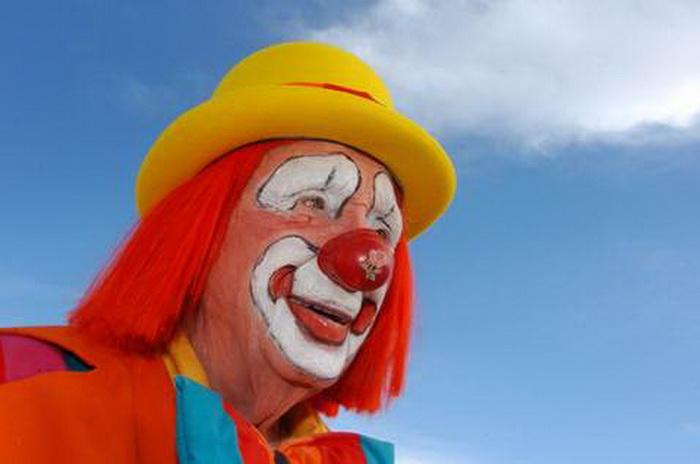 Creeky - самый пожилой клоун в мире, чье имя занесено в Книгу рекордов Гиннеса