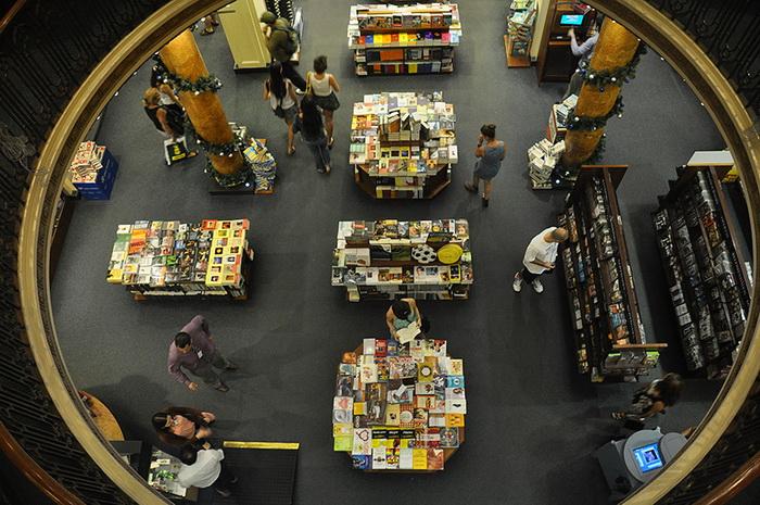 El Ateneo - книжный магазин в Буэнос-Айресе, признанный самым большим и роскошным в мире
