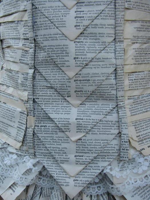 Платье из старого словаря
