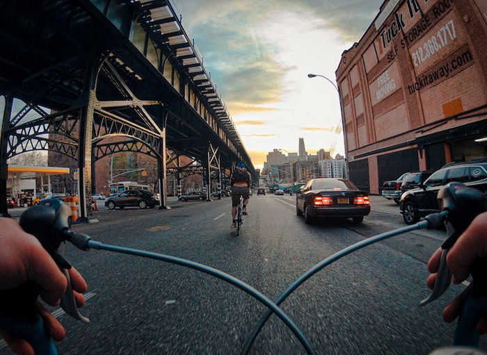 Нью-Йорк глазами велосипедиста. Фотографии Тима Склярова (Tim Sklyarov)