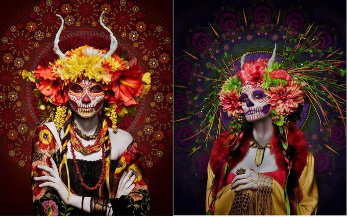 Las Muertas: фотоцикл от Тима Тэйддера (Tim Tadder)