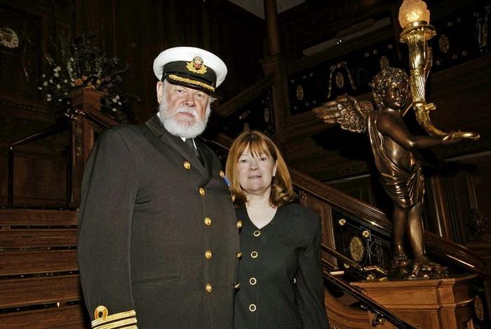 Фото на память с капитаном корабля