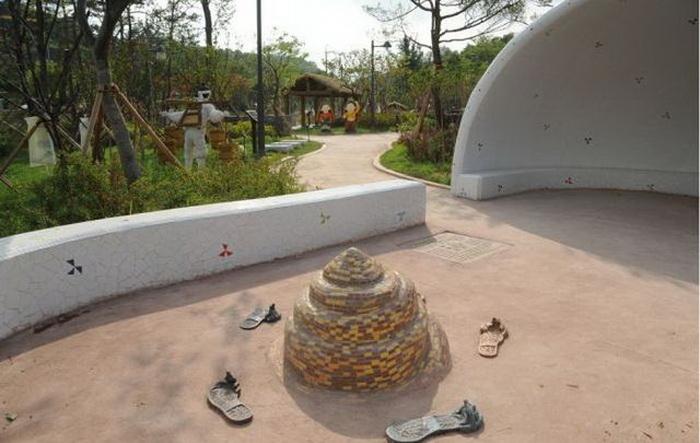 Парк туалетной культуры в Сувоне (Южная Корея)
