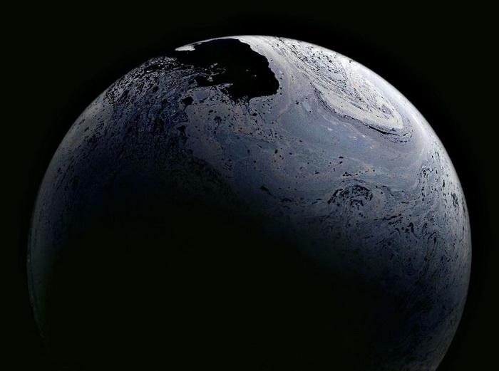*Мыльные* планеты в фотопроекте Джейсона Тозера