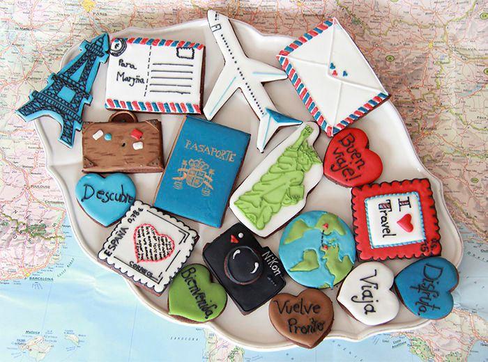 Печенье и пряники - самый вкусный подарок для путешественника