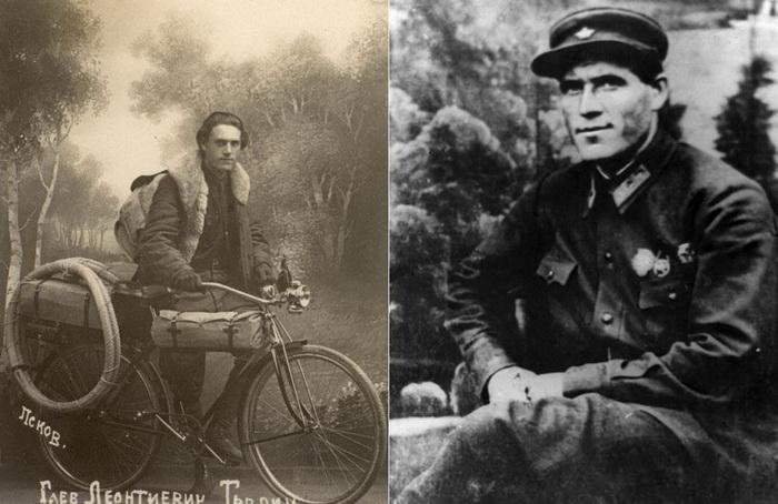 Глеб Травин - легендарный советский велопутешественник | Фото: trenager.ucoz.com, kolizej.at.ua