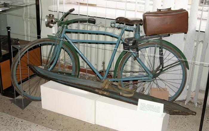 Велосипед Глеба Травина | Фото: buher.ru