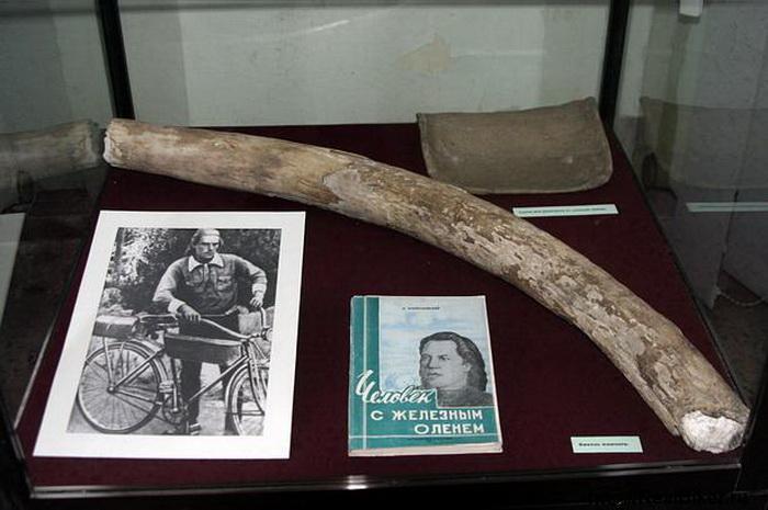 Экспонаты музейной выставки о  Глебе Травине | Фото: trenager.ucoz.com