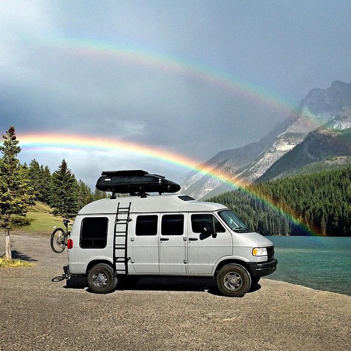 Вокруг света на старом фургоне: фотопутешествие Трэвиса Барка(Travis Burke)