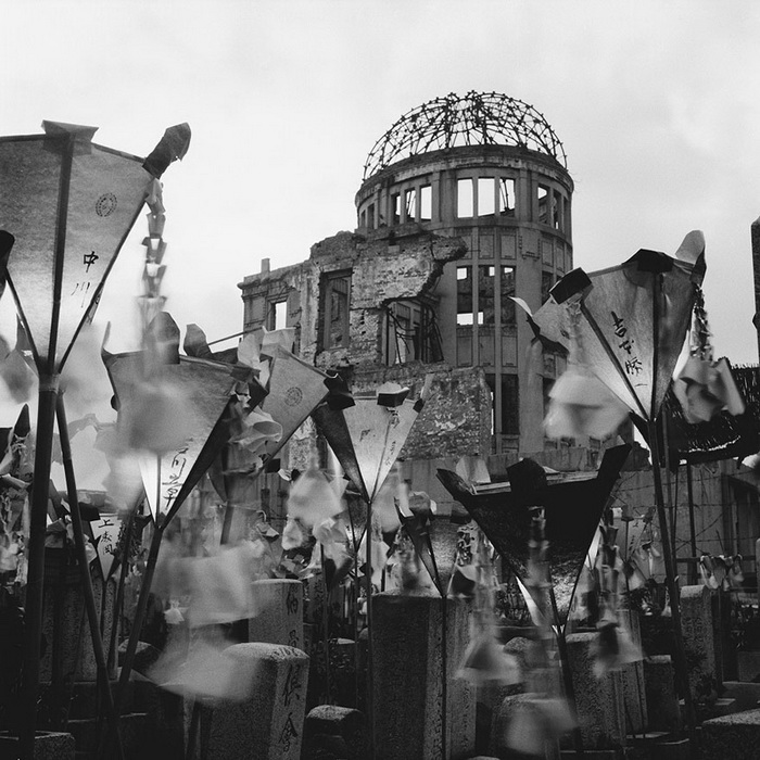 Хиросима после бомбардировки, 1953 год