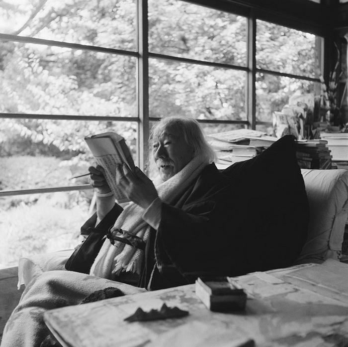 Портрет японского журналиста Токутоми Сохо, 1957 год