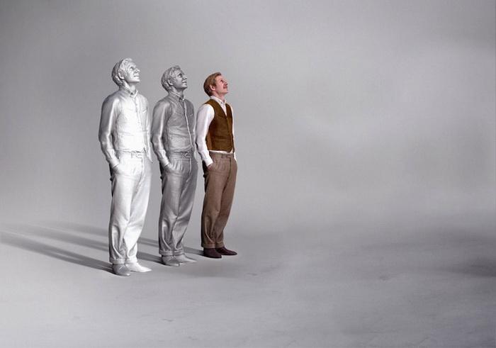 Трехмерное сканирование позволяет создать точную копию фигуры человека
