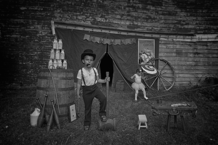 Бродячие артисты. 1900-е г. Ретро-фотографии от Тайлера Орехек (Tyler Orehek)