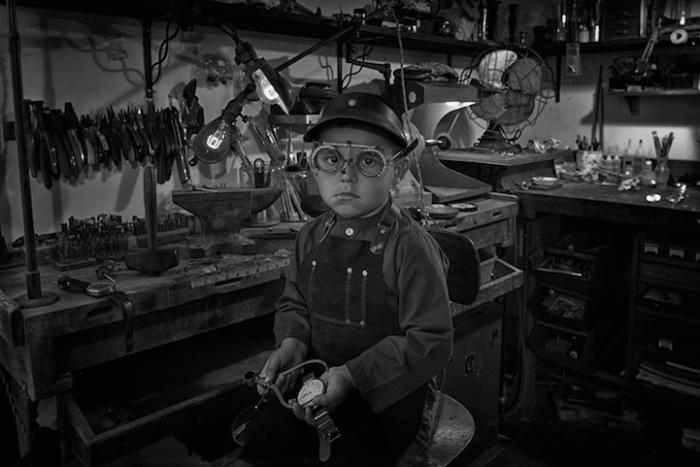 Часовщик. 1930-е г. Ретро-фотографии от Тайлера Орехек (Tyler Orehek)