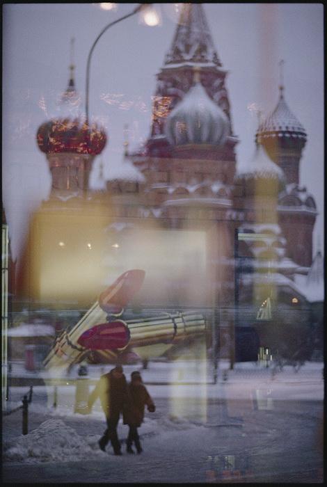 Вид из окна на Собор Василия Блаженного