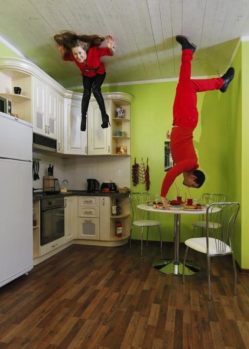 Перевернутая кухня